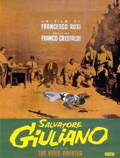 <i>Salvatore Giuliano</i> (film) 1962 film by Francesco Rosi