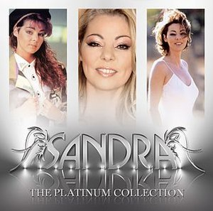 The Platinum Collection (Sandra album) - Image: Sandra The Platinum Collection