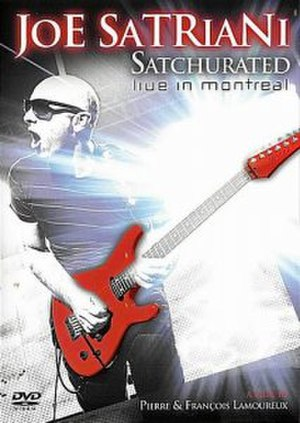 Satchurated: Live in Montreal - Image: Satchurated DVD cover