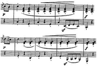 Diabelli Variations - Image: Schusterfleck 1