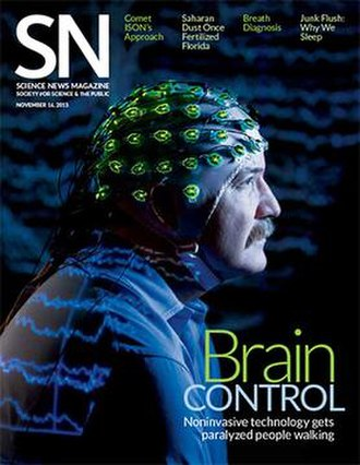 Science News - Cover of the November 16, 2013 issue