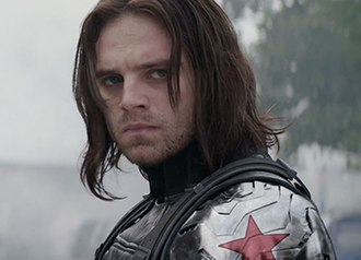 Bucky Barnes - Sebastian Stan as Bucky Barnes in the 2011 film Captain America: The First Avenger.