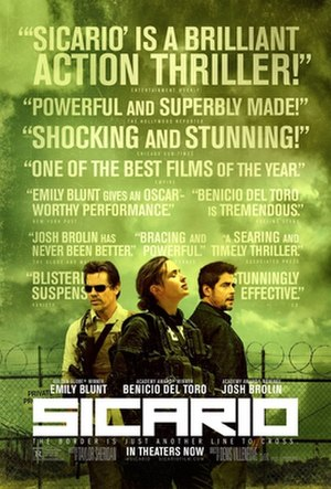 Sicario (2015 film) - Theatrical release poster