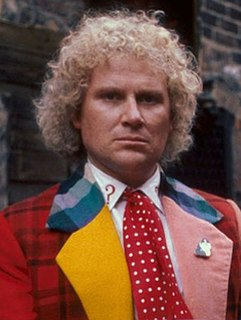 Sixth Doctor fictional character from Doctor Who