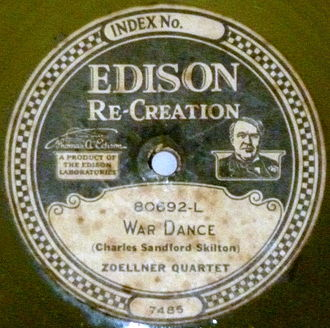 Zoellner Quartet - An Edison recording by the Zoellner Quartet, dedicatee of the music