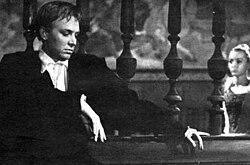 Innokenty Smoktunovsky as Hamlet in the acclaimed 1964 film by Grigori Kozintsev.