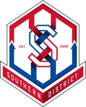 Southern District FC - Image: Southern F Clogo