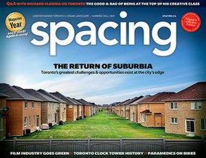 Spacing (magazine) - Image: Spacing magazine Summer Fall 2009