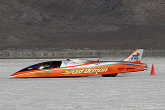 Land speed racing - Image: Speed Demon 2010