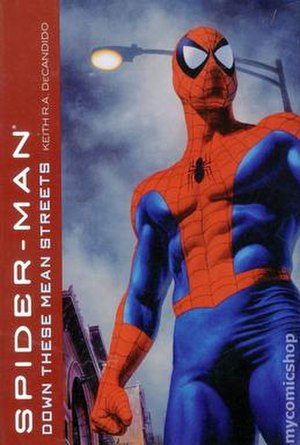 Spider-Man: Down These Mean Streets - Cover to the book