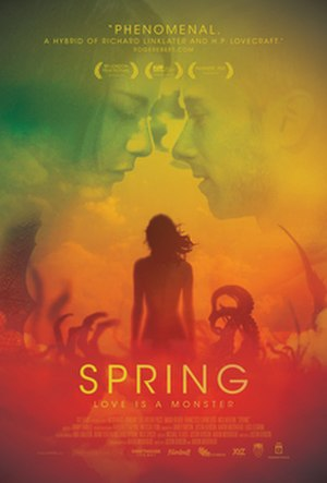 Spring (2014 film) - Theatrical release poster