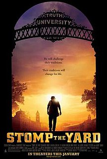 <i>Stomp the Yard</i> 2007 film by Sylvain White