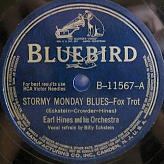 Stormy Monday Blues - Image: Stormy Monday Blues single cover