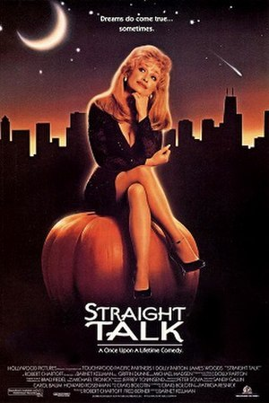 Straight Talk - Theatrical release poster