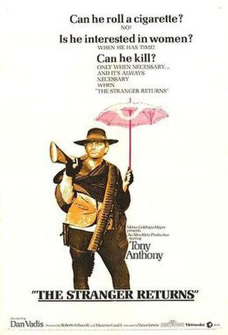 The Stranger Returns - US film poster