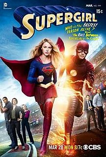 Worlds Finest 18th episode of the first season of Supergirl