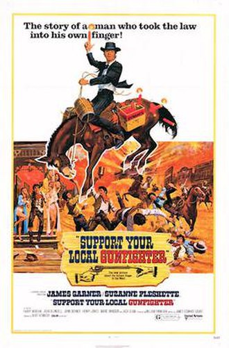 Support Your Local Gunfighter - Theatrical release poster