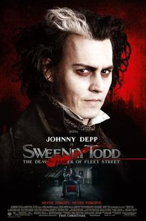 Sweeney Todd: The Demon Barber of Fleet Street (2007 film) - Image: Sweeneylarge