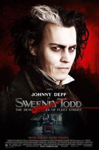Sweeney Todd: The Demon Barber of Fleet Street (2007 film) - Image: Sweeneylarge