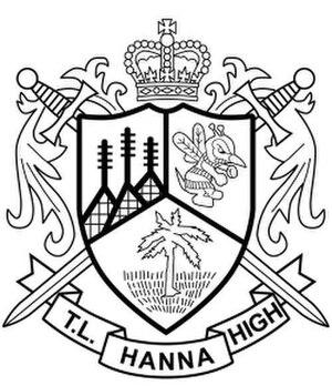 T. L. Hanna High School - T.L. Hanna shield