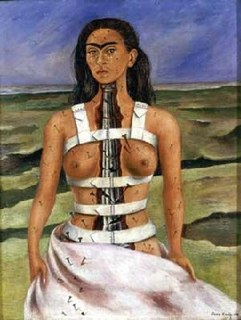 <i>The Broken Column</i> Painting by Frida Kahlo