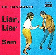 The Castaways Liar Liar Single.jpg