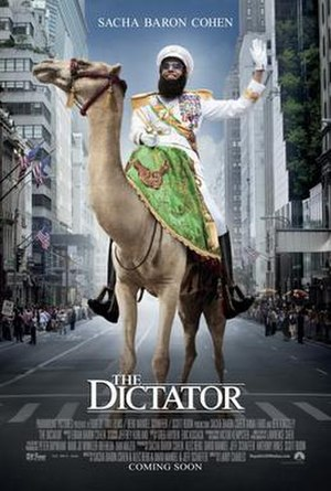 The Dictator (2012 film) - Theatrical release poster