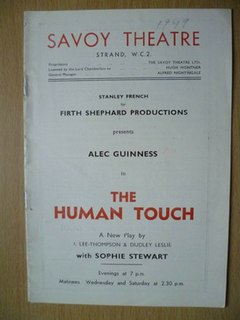 <i>The Human Touch</i>