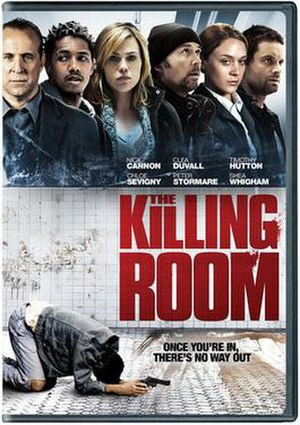The Killing Room - DVD cover