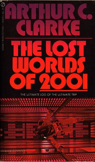 The Lost Worlds of 2001 - Cover of the 1972 Signet book
