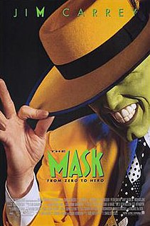 <i>The Mask</i> (1994 film) 1994 comedy film by Chuck Russell