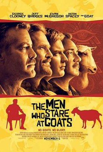 The Men Who Stare at Goats (film) - Theatrical release poster