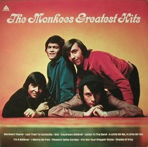 The Monkees Greatest Hits - Image: The Monkees Greatest Hits (Monkees album) coverart