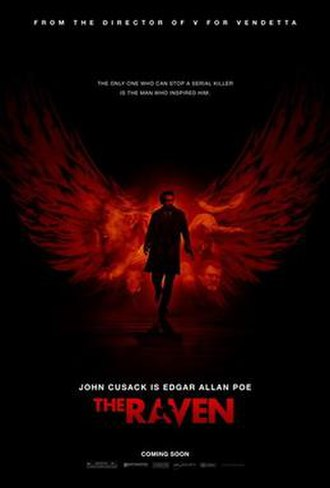 The Raven (2012 film) - Theatrical release poster
