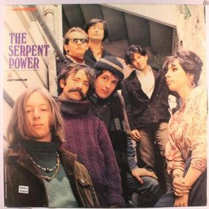 The Serpent Power - Cover of the debut album's British edition