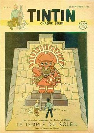 Tintin (magazine) - Tintin No. 1 (26 Sept. 1946)