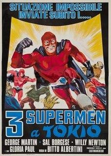 <i>3 Supermen a Tokyo</i> 1967 film by Bitto Albertini