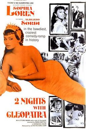 Two Nights with Cleopatra - Film poster