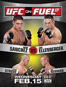 UFC on Fuel TV Sanchez vs. Ellenberger poster.jpg