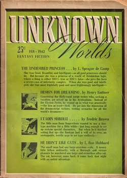 Unknown February 1942 cover