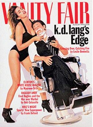 K.d. lang - Image: Vanity Fair Cover Lang Crawford