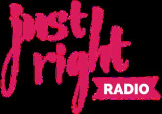 WPTK - Image: WPTK justright RADIO logo