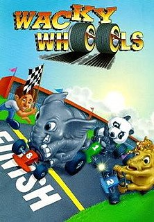 <i>Wacky Wheels</i> video game