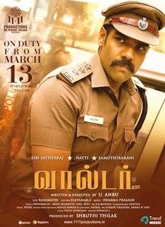 <i>Walter</i> (2020 film) 2020 Indian Tamil-language action crime thriller film