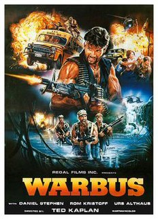 <i>Warbus</i> 1985 film by Ferdinando Baldi