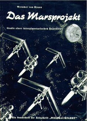 The Mars Project - First German edition book cover