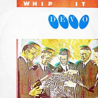 Whip It (Devo song) - Image: Whip It (Devo single) cover art