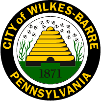 Official seal of Wilkes-Barre, Pennsylvania