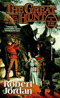Original cover of The Great Hunt