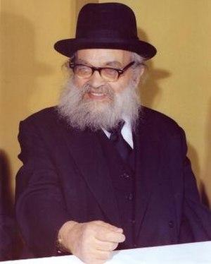 Yaakov Kamenetsky - Image: Yaakov Kamenetsky